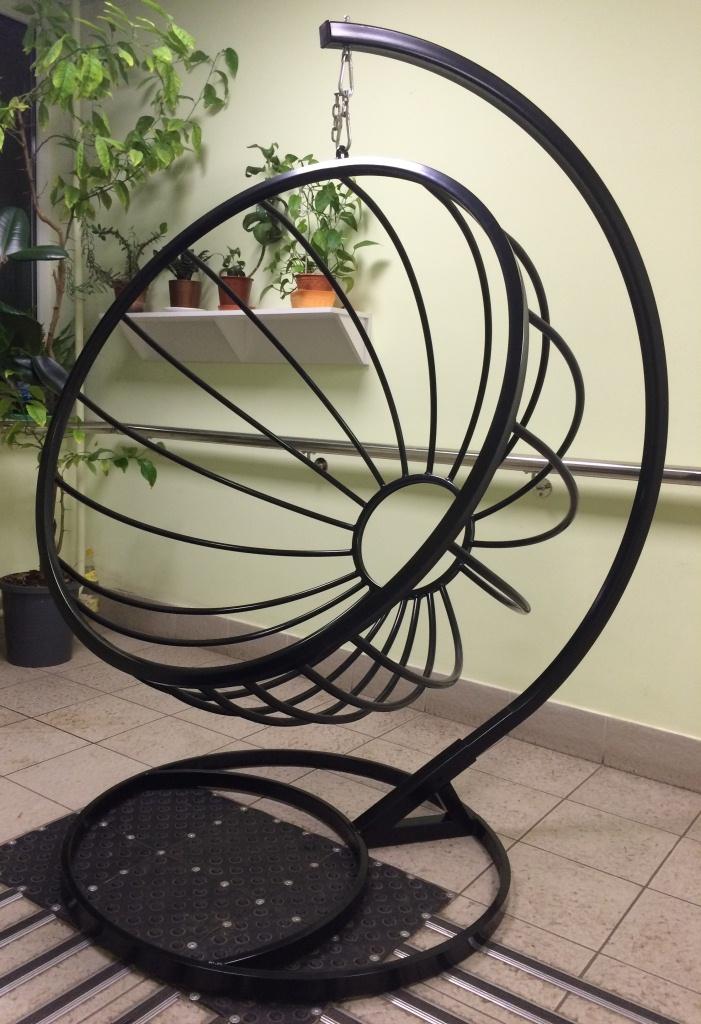 Кресло подвесное своими руками из металла 4